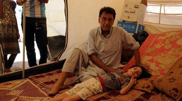 Işid'ten Kaçan Türkmenler, Erbil'deki Kampta Aç Ve Susuz Bayrama Girdi