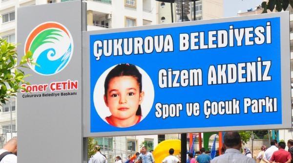 İşkenceyle Öldürülen Gizem'in Adı Parka Verildi