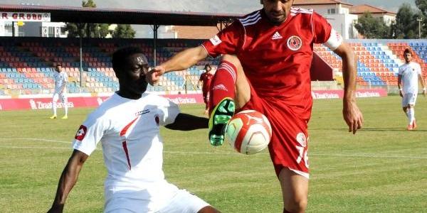 Iskenderun Demirçelikspor-Tavşanli Linyitspor: 3-4 (Türkiye Kupasi-Penaltilarla)