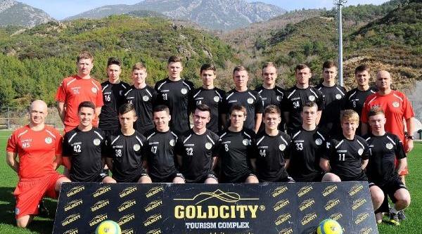 Iskoç Takimi St Mirren'in U17 Takimi Kamp Için Alanya'da