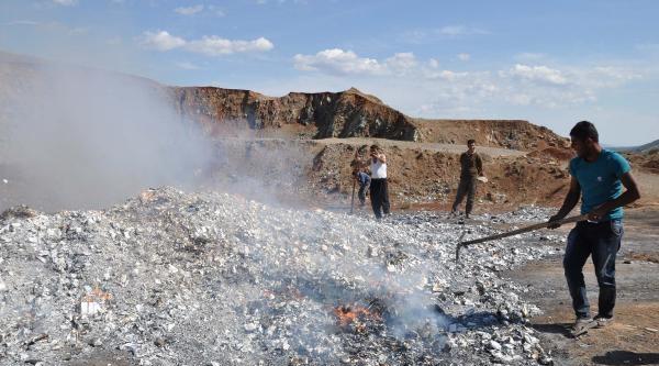 İslahiye'de 130 Bin Paket Kaçak Sigara İmha Edildi