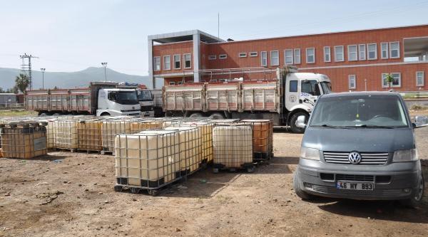 İslahiye'de Kaçak Akaryakıt Operasyonu: 11 Gözaltı