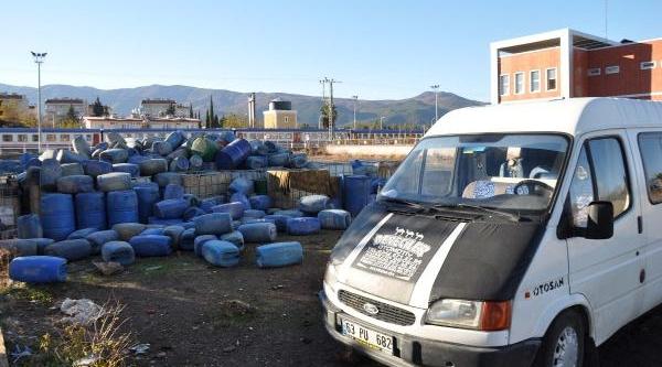 Islahiye'de Kaçak Akaryakita 1 Gözalti