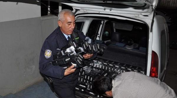 Islahiye'de Kaçak Sigara Operasyonu: 2 Gözalti
