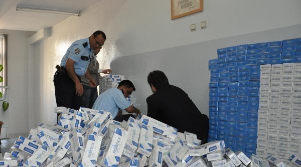 İslahiye'de Kaçak Sigaraya 3 Gözaltı