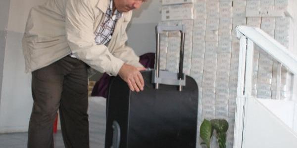 Islahiye'de Otobüsde 1450 Paket Kaçak Sigara Ele Geçti