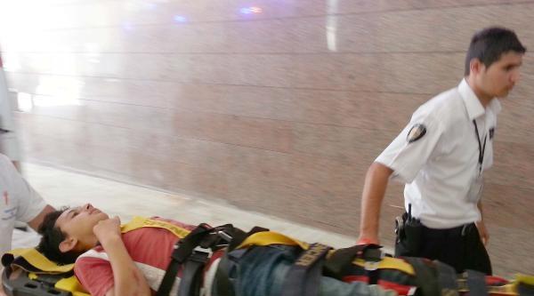 İslahiye'deki Kazada Baba- Oğul Yaralandı