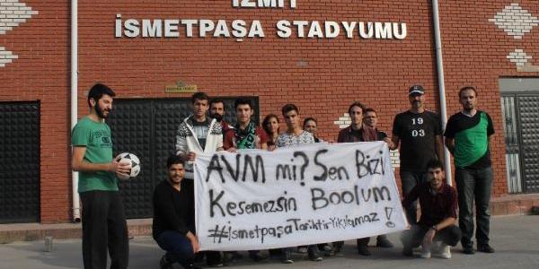Ismetpaşa Stadi'nin Avm Yapilmasini Taraftarlar Protesto Etti