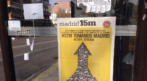 """İspanya'da Halkın Başlattığı """"onur Yürüyüşü"""" Başkent Madrid'e Ulaştı"""