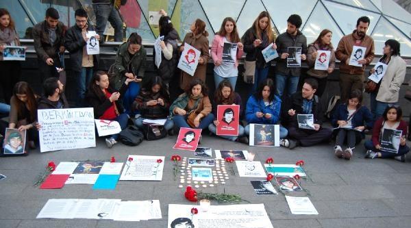 İspanya'da Madrid Ve Barcelona'da Berkin Elvan İçin Gösteriler