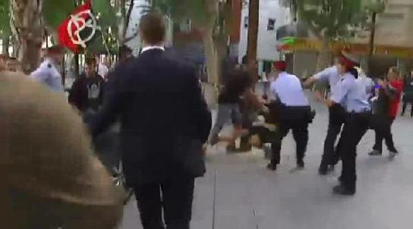 İspanya'da Maliye Bakanına Saldırı