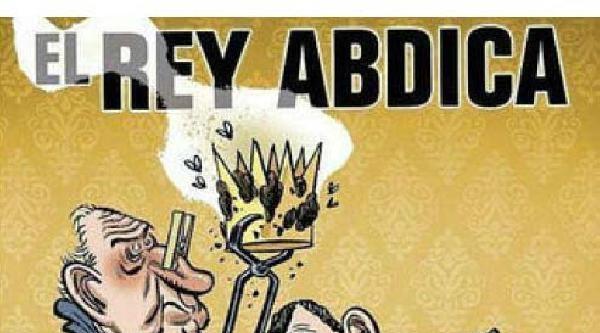 İspanya'da Yeni Kralla İlgili İlk Sansür Mizah Dergisine Oldu