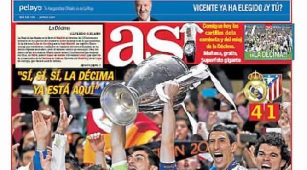 İspanyol Basını Real Madrid İçin,
