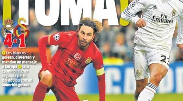 Ispanyol Basinindan Real Madrid'e Övgü