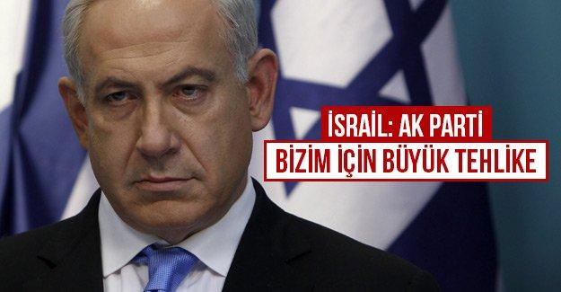İsrail: AK Parti bizim için büyük tehlike