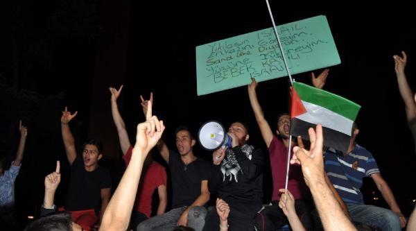 İsrail Başkonsolosluğu Önünde Gazze Protestosu