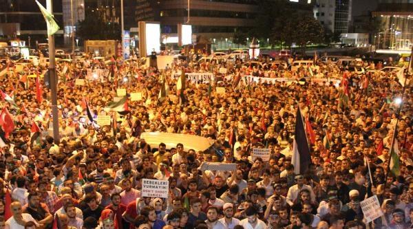 İsrail Protestosu Eyleminden Fotoğraflar-2