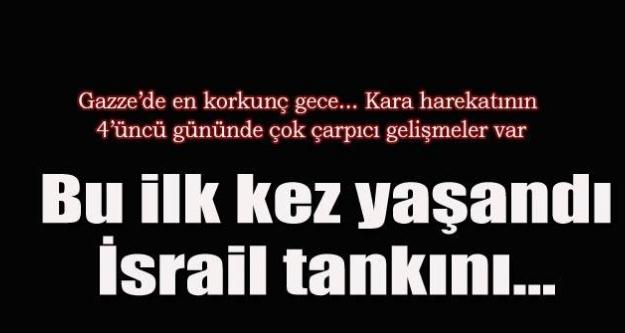 İsrail tankını imha etmek için kendisini patlattı