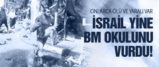 İsrail yine BM okulunu vurdu! Çok sayıda ölü var! GAZZE'DE