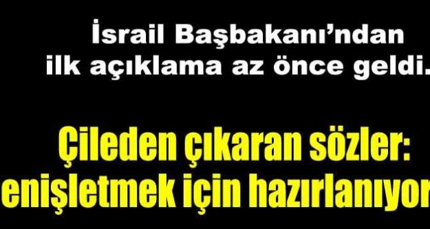 İsrail'den flaş Türkiye talimatı
