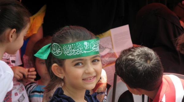 İsrail'in Gazze'ye Kara Saldırısı Çubuk'ta Kınandı