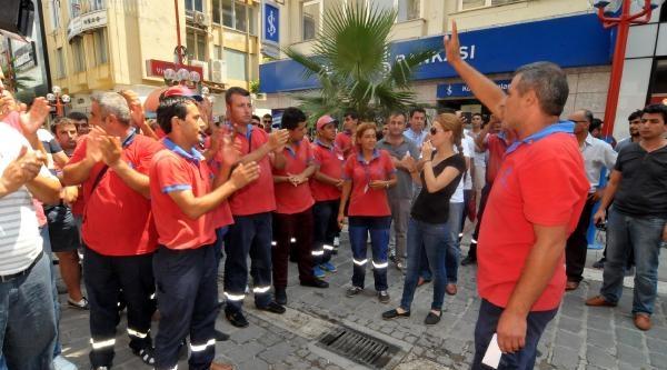 İşsiz Kalan Parkomat İşçilerinden Protesto Yürüyüşü