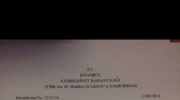 İstanbul Cumhuriyet Savcılığı: (bilal Erdoğan)