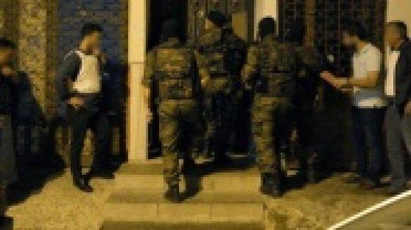 İstanbul'da Birçok Adrese Terör Baskını