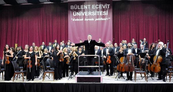 Istanbul Devlet Senfoni Orkestrasi'ndan Beü'de Konser