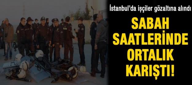 İstanbul karıştı!
