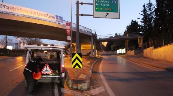 Istanbul Maratonu Yollari Trafiğe Kapattirdi