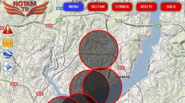 İstanbul Semaları Uçuşu Da Yasak