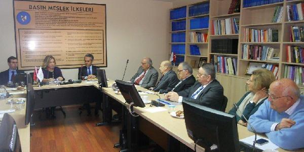 İstanbul Vali Yardımcısı Kazım Tekin, Basın Konseyi'ni Ziyaret Etti