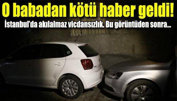 İstanbul'da akıl almaz vicdansızlık! Bu görüntüden sonra...