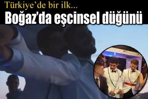 İstanbul'da eşcinsel düğünü
