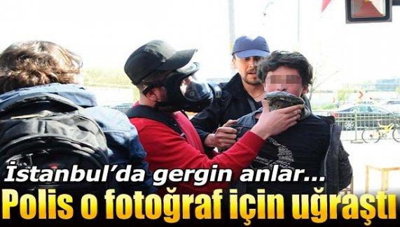 İstanbul'da gergin anlar!