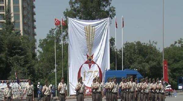 İstanbul'da Jandarma Genel Komutanlığı'nın 175. Kuruluş Yıldönümü Kutlaması