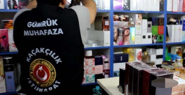 İstanbul'da Kaçak Parfüm Operasyonu