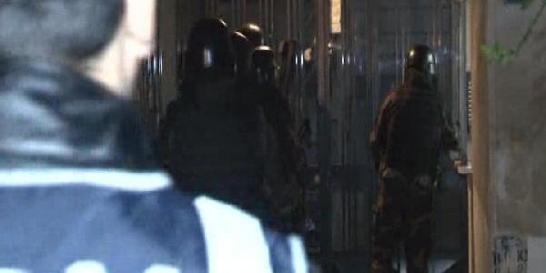 Istanbul'da Narkotik Operasyonu