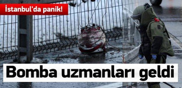 İstanbul'da panik! Okmeydanı'nda bomba alarmı!
