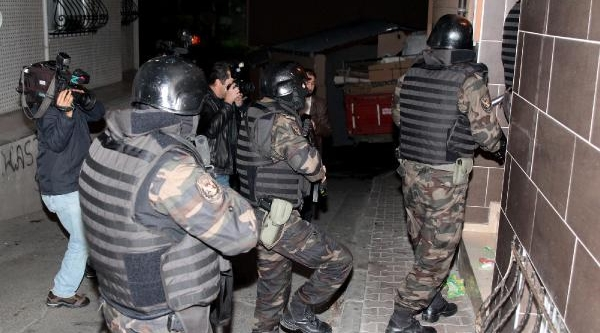 Istanbul'da Şafak Operasyonu