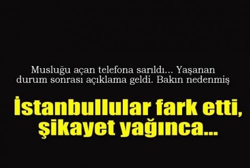 İstanbul'da su neden kokuyor? İSKİ açıklama yaptı