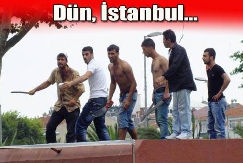 İstanbul'da ürküten eylem!