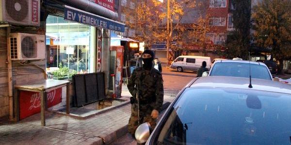 Istanbul'da Uyuşturucu Operasyonu