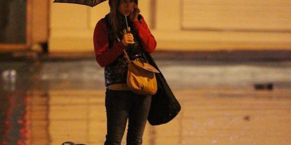 Istanbul'da Yağmur Etkili Oldu