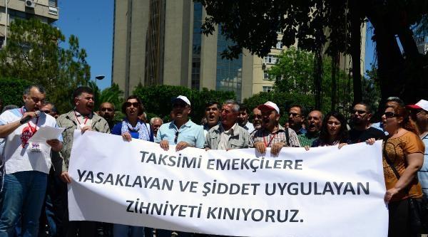 İstanbul'daki Polis Müdahalesine Tepki