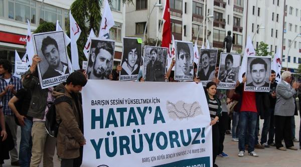 İstanbul'dan Hatay'a Barış İçin Yürüyorlar
