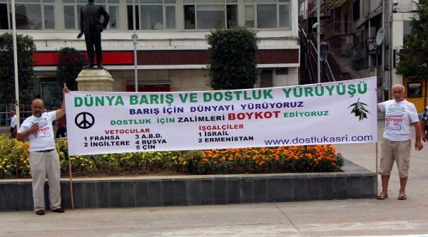 İstanbul'dan Kahire'ye Protesto Eylemi