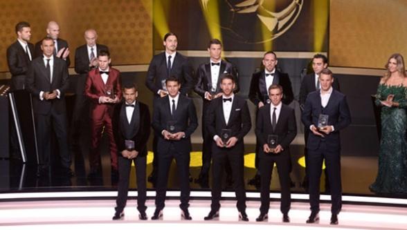 İşte 2013 yılının en iyi futbolcusu!