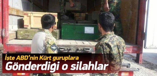 İşte ABD'nin Kobani'ye gönderdiği silahlar